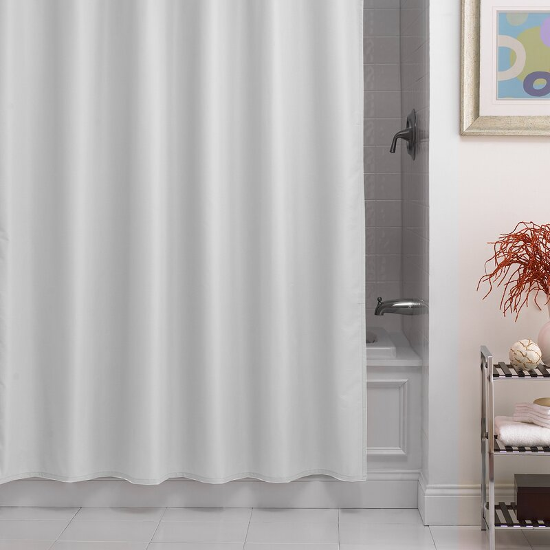Beachcrest Home Santalaris Fabric Shower Curtain Liner & Reviews ...