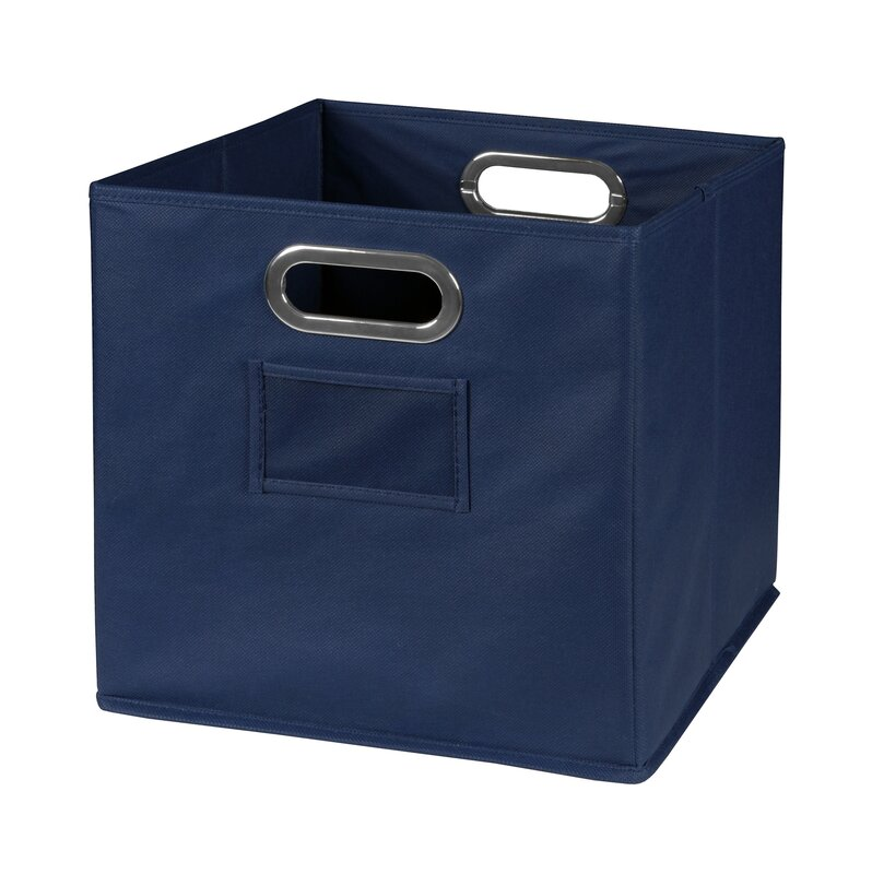 Foldable Fabric Storage Tote