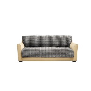 Box Cushion Armless Sofa Slipcover