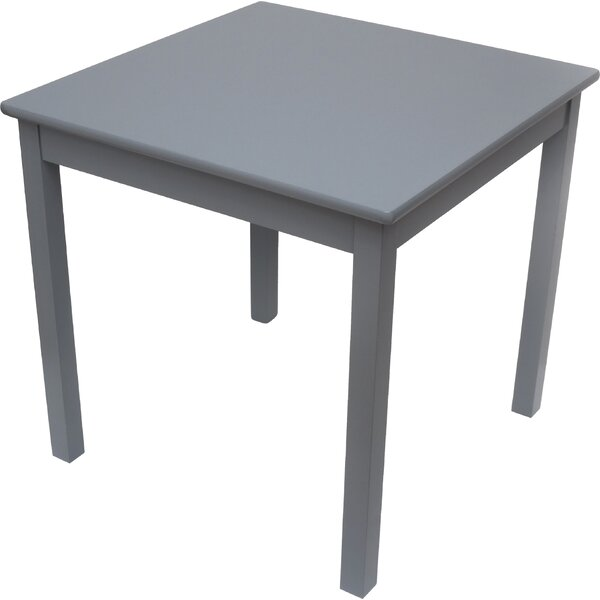 Lipper international xo kids square writing table for Furniture xo out of business