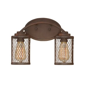 Akron 2-Light Vanity Light