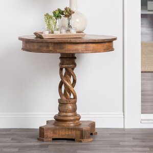 Emely End Table by World Menagerie