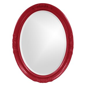 Red Wall Mirror red mirrors you'll love | wayfair