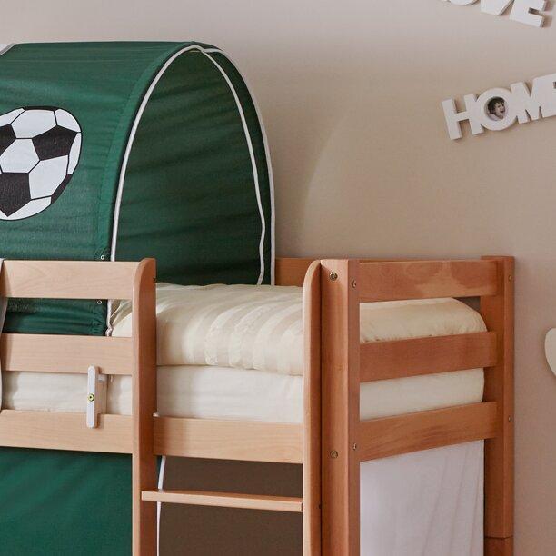 ticaa etagenbett lifou mit rutsche 140 x 200 cm. Black Bedroom Furniture Sets. Home Design Ideas