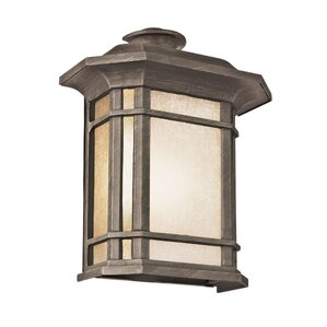 Corner Windows 1 Light Outdoor Flush Mount