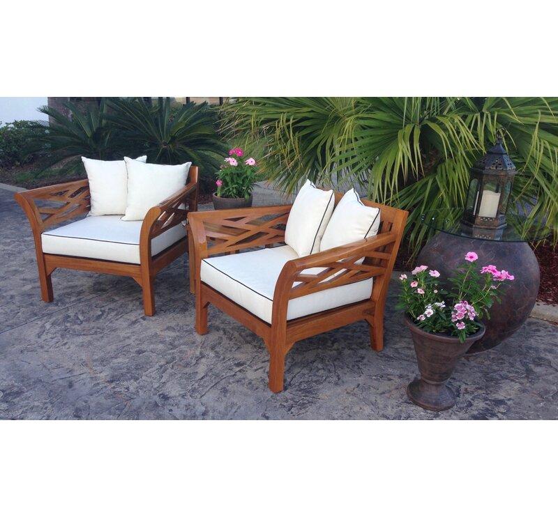 Long Island Teak Chair With Cushion