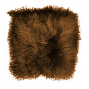 d13c1001e31 Sheepskin Indoor Outdoor Dining Chair Cushion