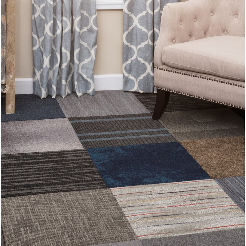 Nance Industries Diy 20 X 20 Carpet Tile In Assorted Reviews