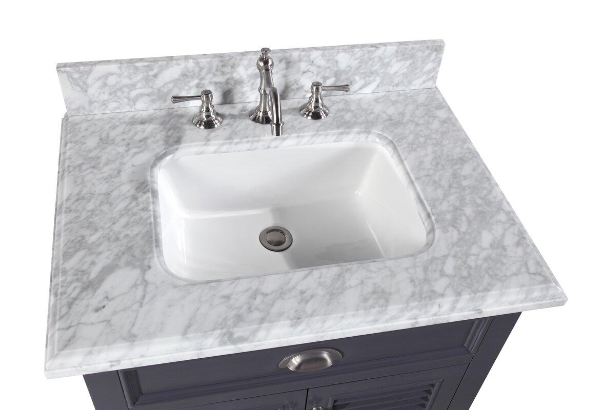 Savannah 30 single bathroom vanity set reviews birch lane for Savannah bathroom accessories