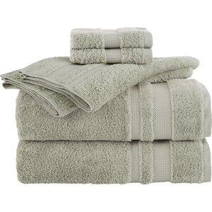 Supima Luxe 6 Piece Towel Set