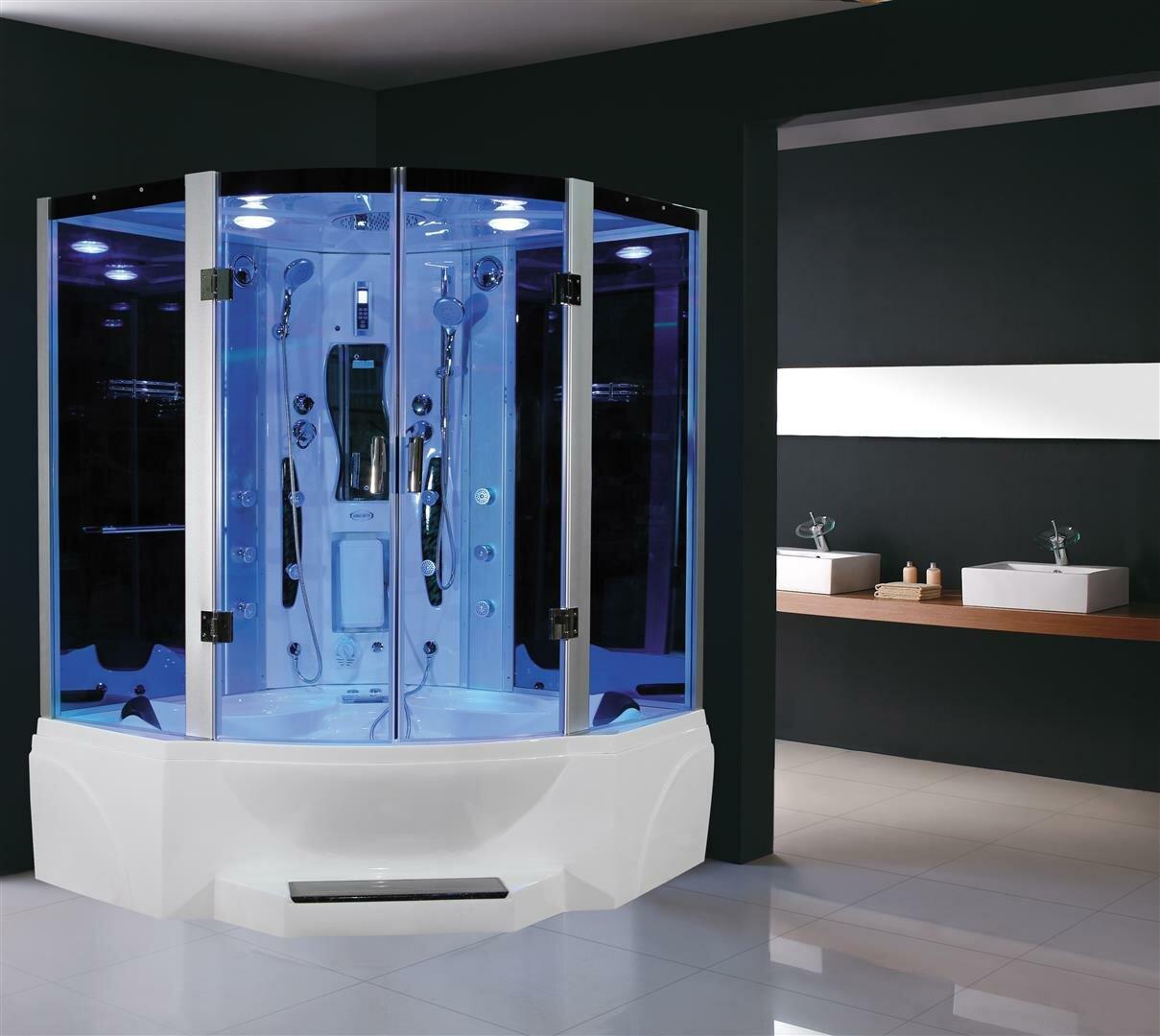 Old Fashioned Framed Shower Screen Festooning - Bathtub Design Ideas ...