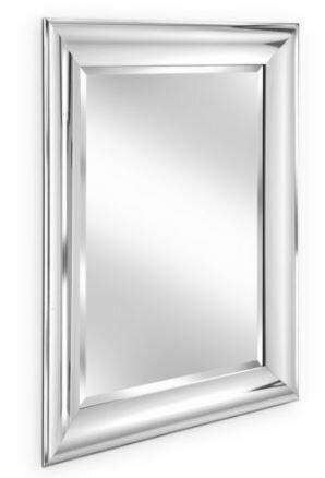 Erias Home Designs Simple Beveled Edge Wall Mirror & Reviews | Wayfair
