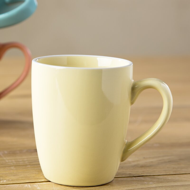 75cd91b262f Ebern Designs Batten Pastel Coffee Mug | Wayfair