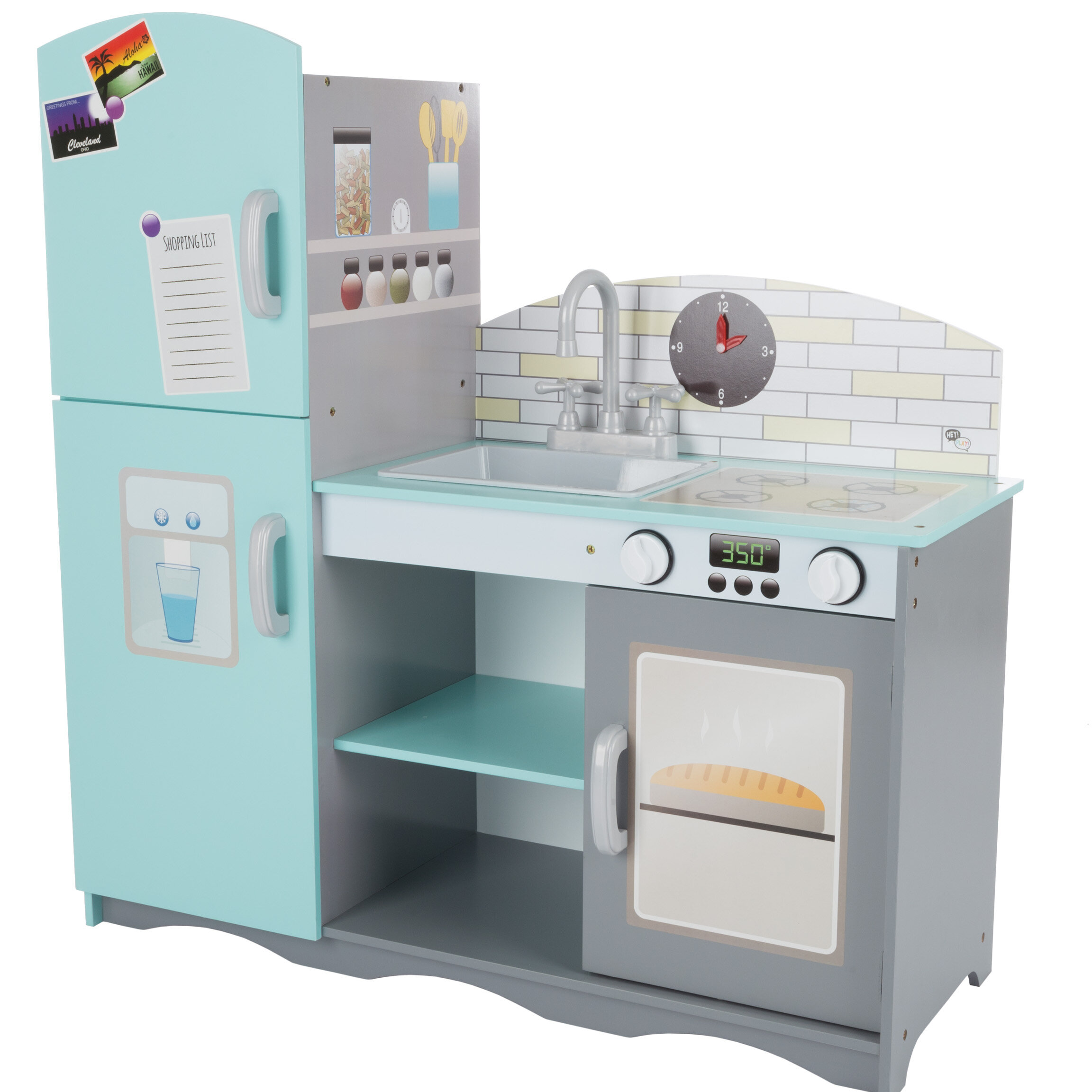 Hey! Play! Kitchen Set   Wayfair