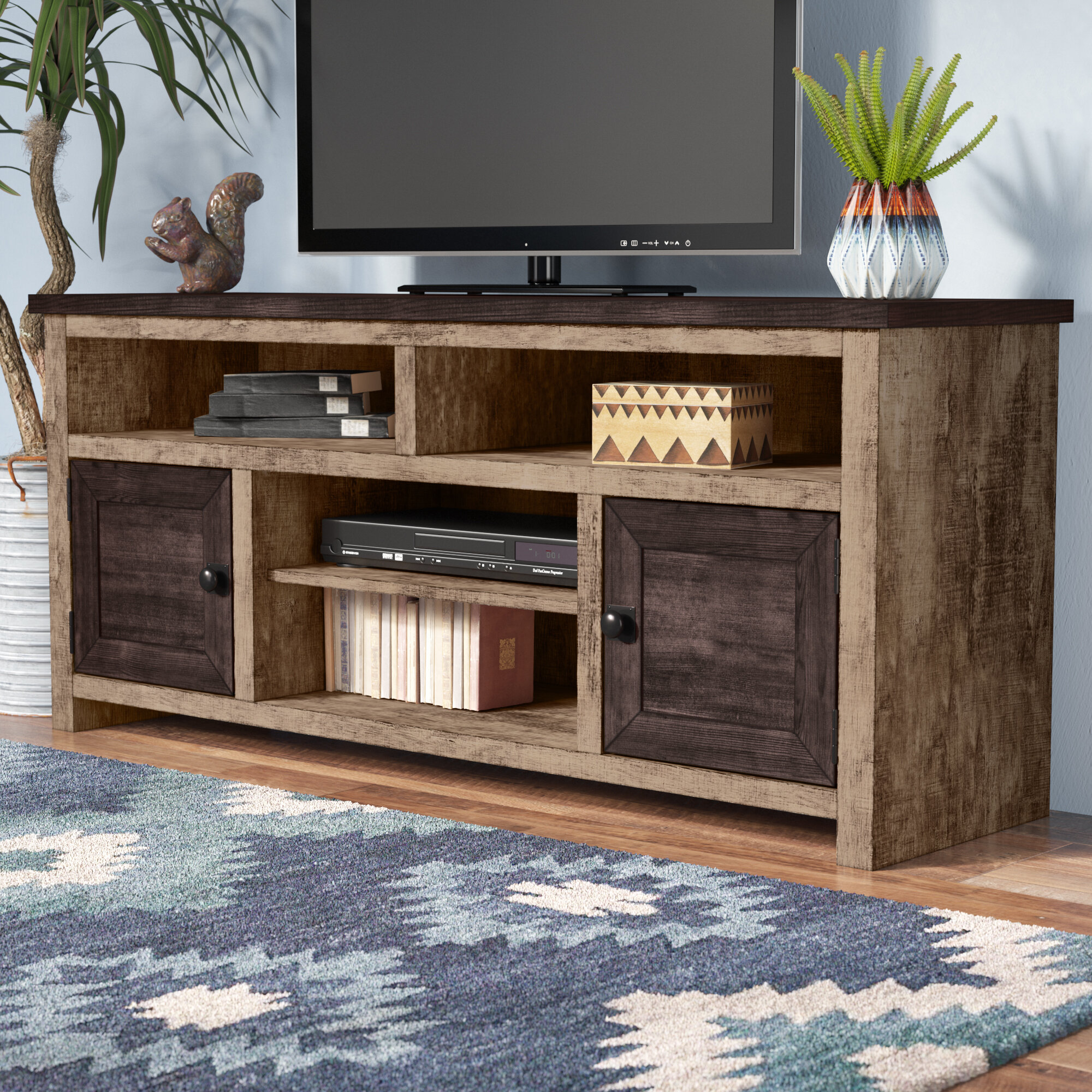 Union Rustic Redd Tv Stand For Tvs Up To 60 Reviews Wayfair