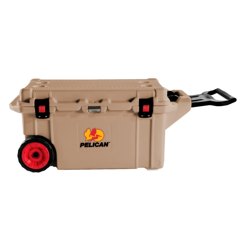 Pelican Progear Coolers 80 Qt Wheeled Rotomolded Cooler