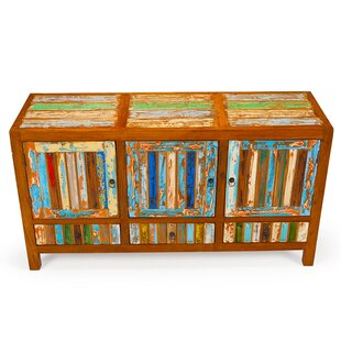 Forget Me Knot Reclaimed Wood Accent Cabinet