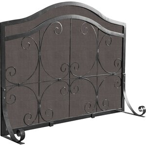 Crest Single Panel Fireplace Screen