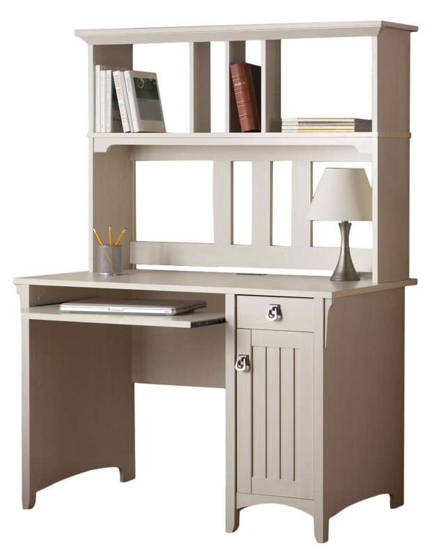 Lark Manor Ottman Computer Desk With Hutch Amp Reviews Wayfair