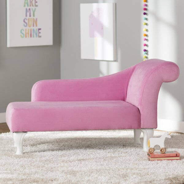 Girls Pink Chaise Lounge | Wayfair