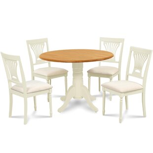 Forthill 5 Piece Round Dining Set