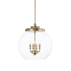 Maria 4-Light Globe Pendant