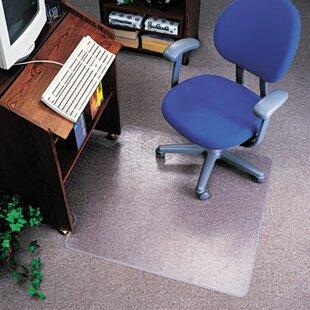 Economat Nonstudded No Bevel Chair Mat For Low Pile Carpet
