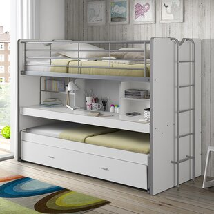 Bonny European Single High Sleeper Bed with Storage by Vipack