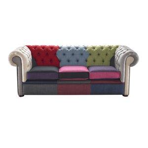 3-Sitzer Sofa Chesterfield von Portabello Interiors