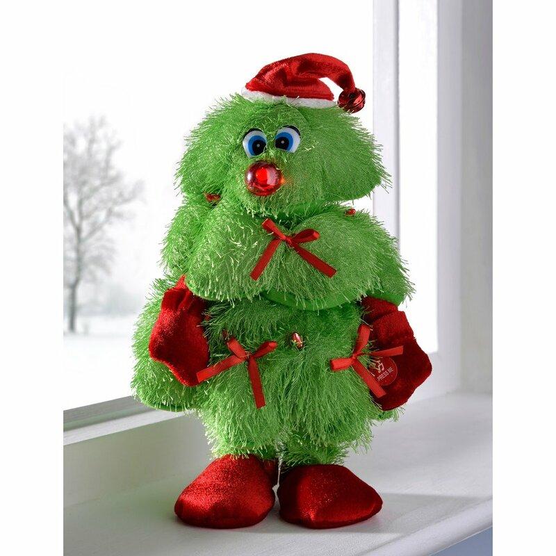Delightful Walking Christmas Tree Part - 4: Dancing, Walking And Singing Novelty Christmas Tree