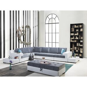 Luna Sectional by Perla Furniture
