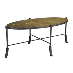 Henry Swerve Oval Coffee Table..