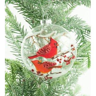 Fresh Red Cardinal Ornaments   Wayfair WM14