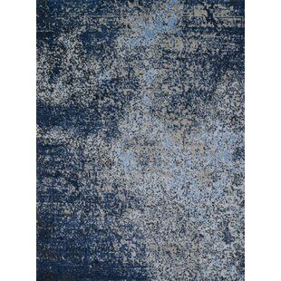Klahn Gray Navy Area Rug