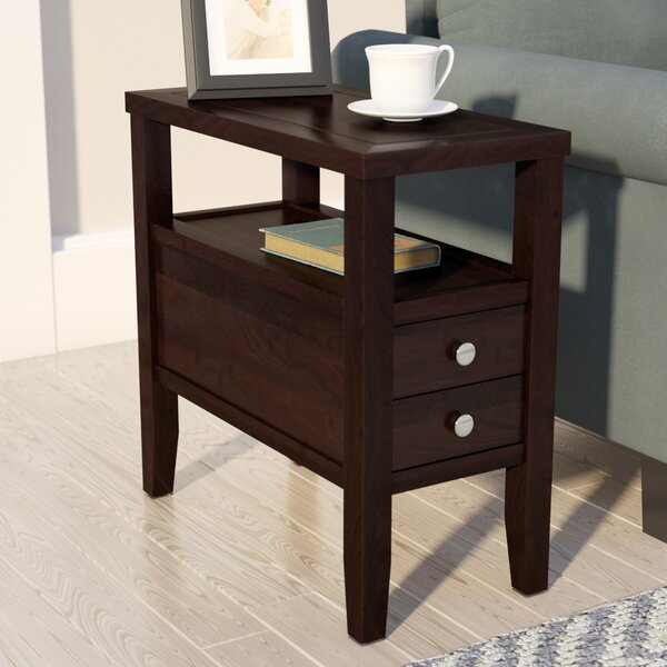 andover mills gahagan end table with storage  reviews
