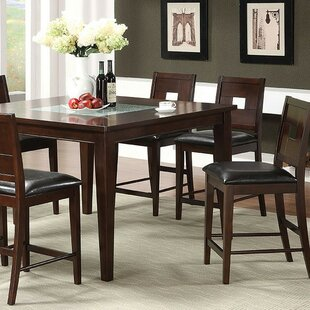 Alloway 7 Piece Counter Height Dining Set