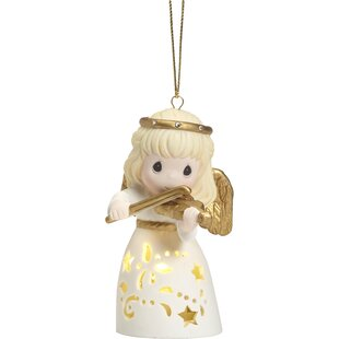 angel led hanging ornament - Animated Christmas Ornaments