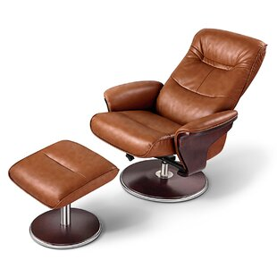 . Modern   Contemporary Cognac Leather Chairs Recliner   AllModern
