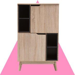 Modern Contemporary Tall Kitchen Storage Cabinet Allmodern
