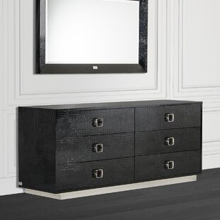 Lilou 6 Drawer Double Dresser