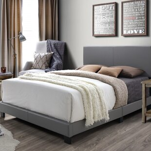 colwell queen upholstered panel bed - Queen Bedroom Frames