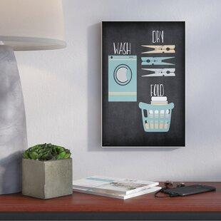wash dry fold illustration impression dart graphique