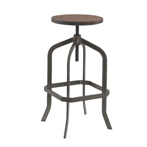Adjustable Swivel Bar Stool by Best Quality Furniture