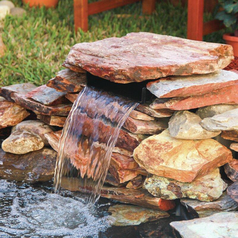 Portable Waterfall Fountain: Pond Boss Waterfall Spillway & Reviews