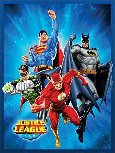 d0e4af7208b6 Justice League (Superman, Batman, The Flash, and Green Lantern) STARBURST  Luxury