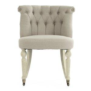 Niccolo Slipper Chair by One Allium Way