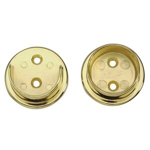 2 Piece Closet Flange Set for Tubing by Lido Designs