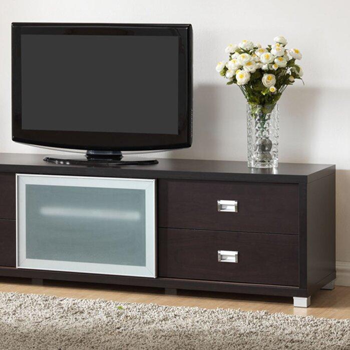 wholesale interiors baxton studio botticelli 71 tv stand reviews wayfair