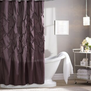 Benjamin Shower Curtain Purple Curtains You ll Love  Wayfair