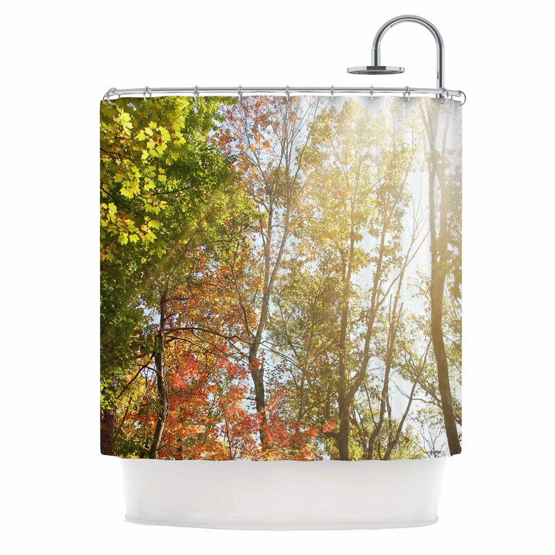 Autumn Trees I Shower Curtain